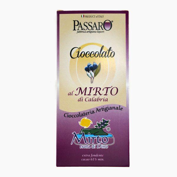 cioccolato al mirto di calabria